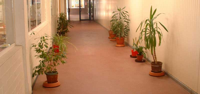 coatingvloer voor kantoren