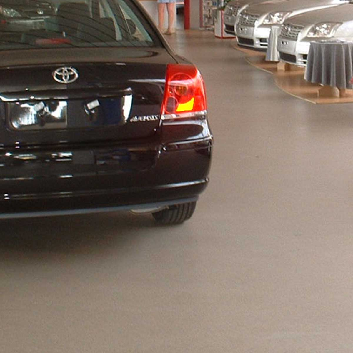 Coatings voor de Autoshowroom