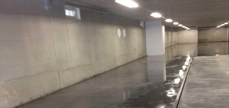 Coatingsystemen voor de parkeergarage