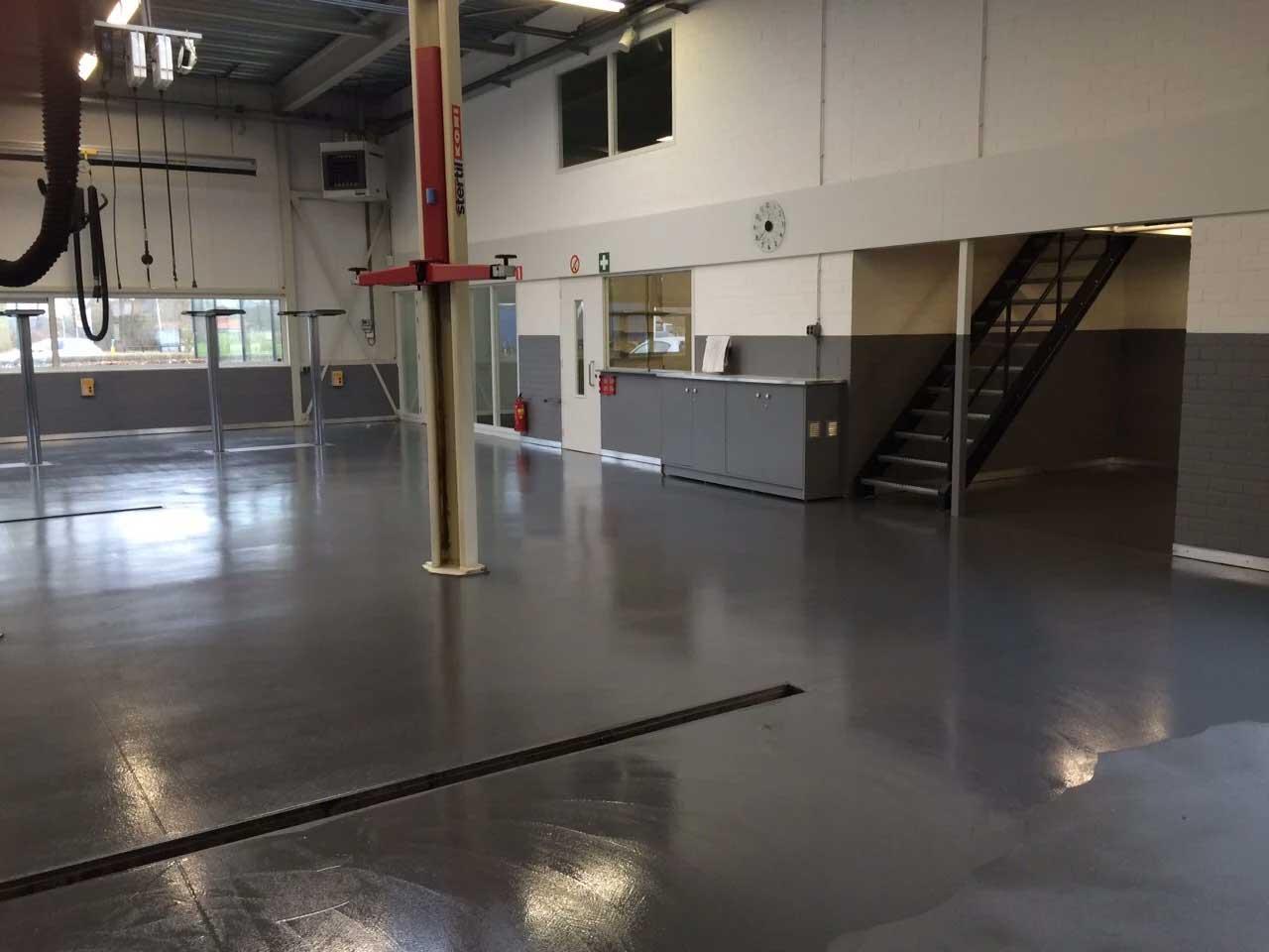 Beschichtung für die autowerkstatt;nahtlos mesa coatings
